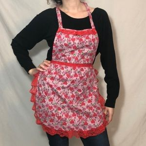 Valentines Day hand made apron